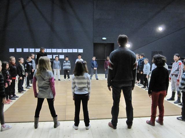 Atelier théâtre avec la compagnie le Ptit Phil Rouge