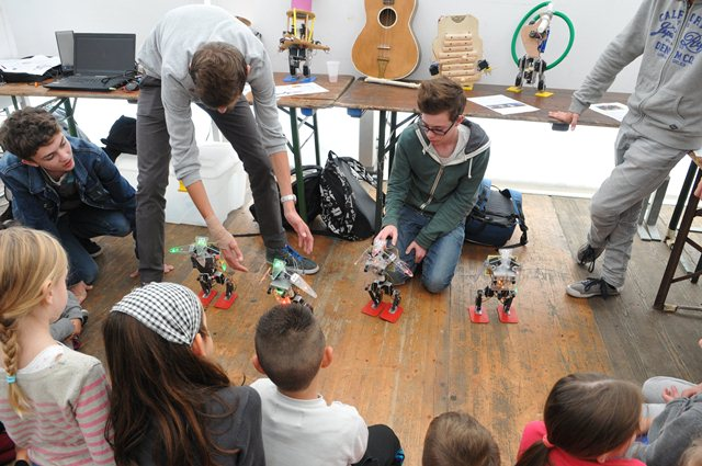 Ateliers robotiques