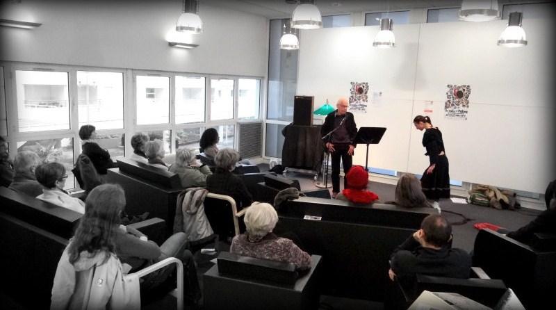 Conférence pour le Printemps des poètes
