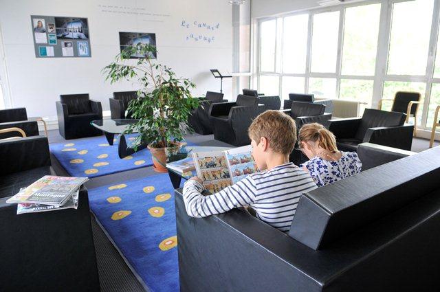 Le salon de lecture