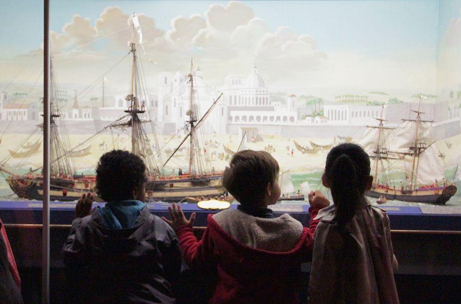 Visite jeune public au musée