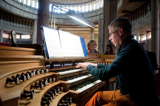 Mickaël Gaborieau, professeur d'orgue