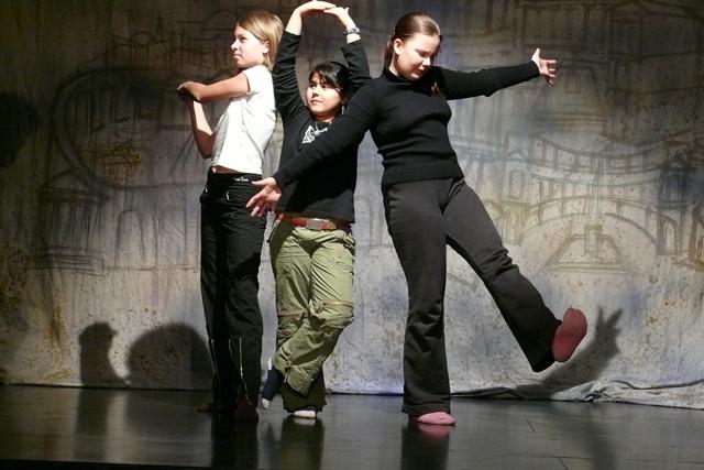 Stage de théâtre au Scénith