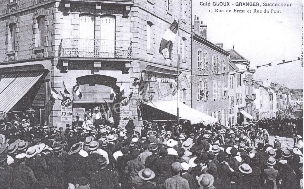 Le Tour à Lorient en 1912