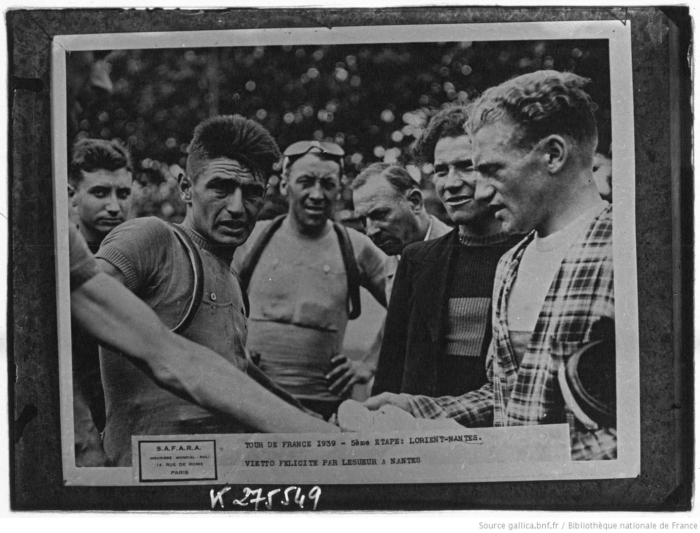 Tour de France 1939 - Source Gallica