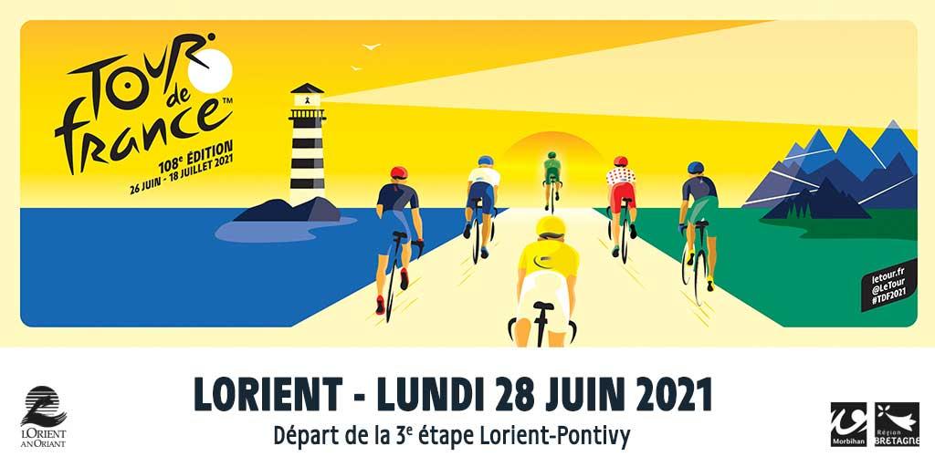 Le Tour de France à Lorient le 28 juin. Cliquez !
