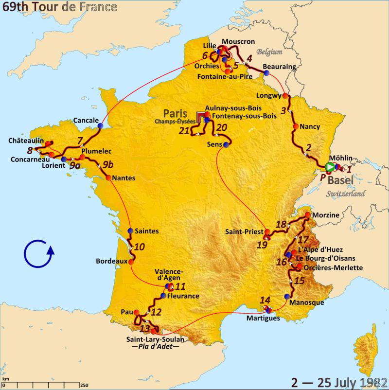 Tour 1982 - image Wikipedia