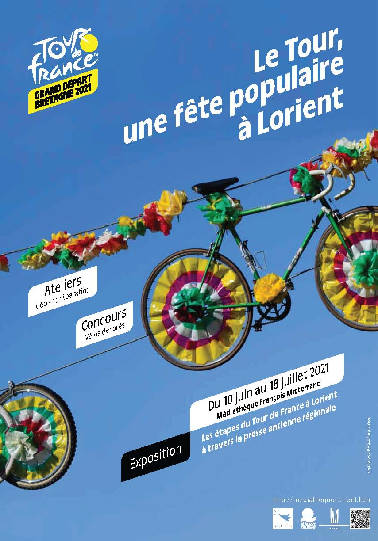 Expo Tour de France à la médiathèque