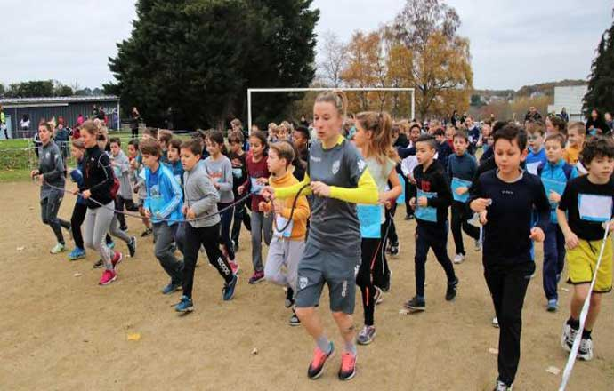 Cross de la solidarité 2017, organisé par l'USEP (photo Ouest-France - DR)