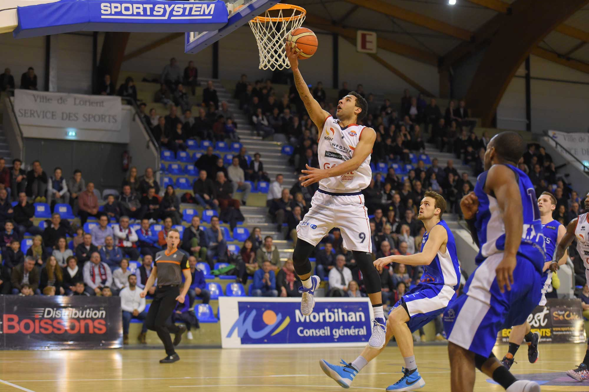 CEP Lorient Basketball - image Olivier Poulain