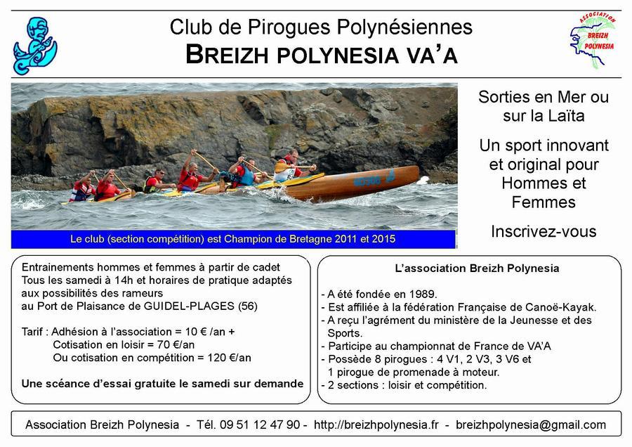 Club de pirogue Polynésienne