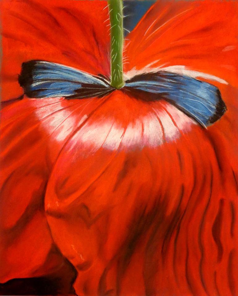 Tulipe au pastel par Karen