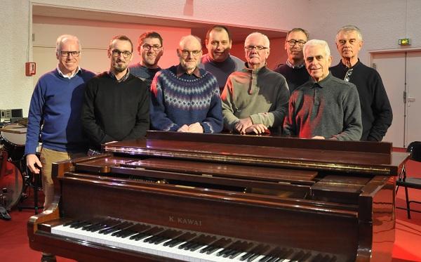 Le chœur en répétition