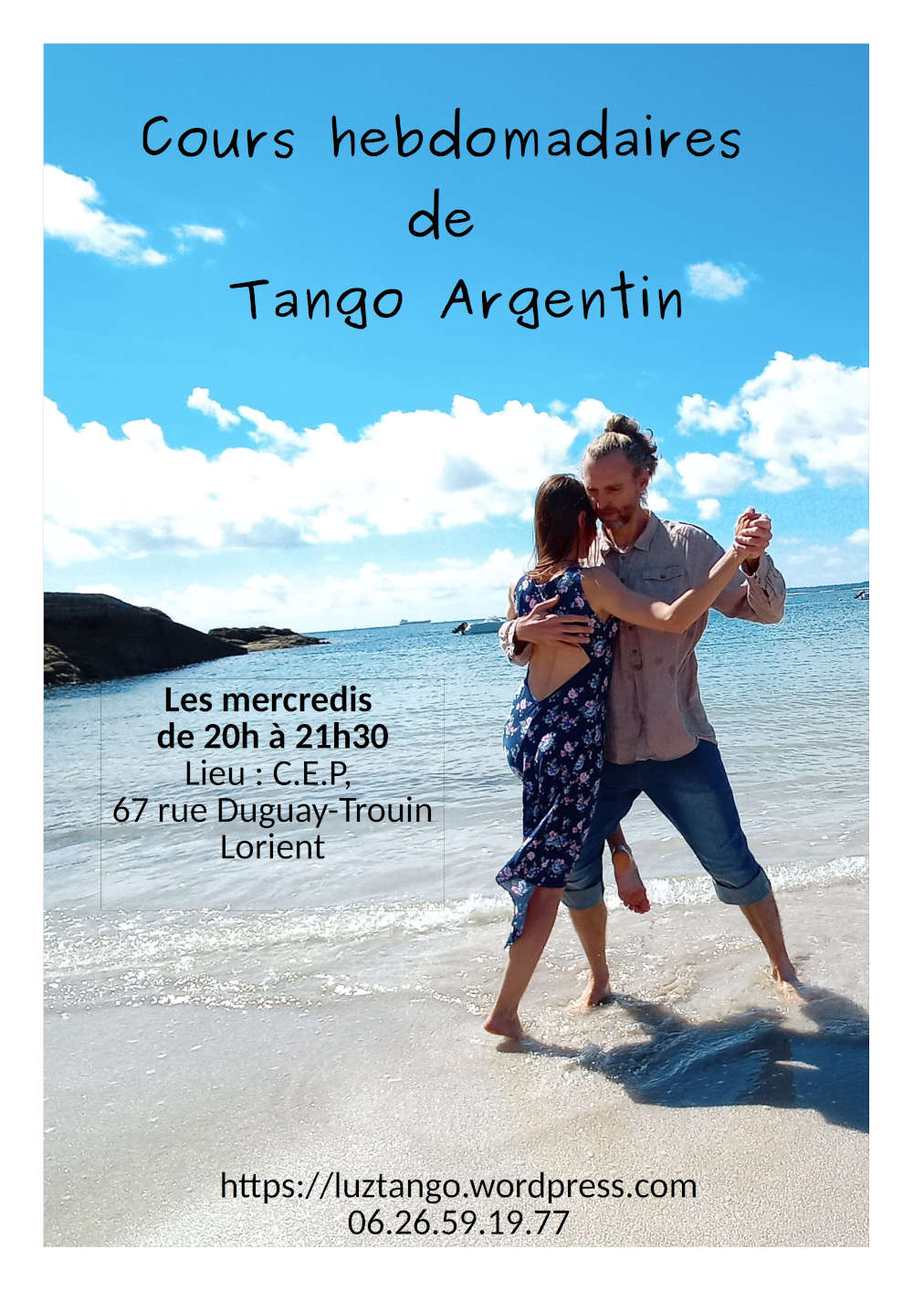 Cours régulier de Tango Argentin par Zoom