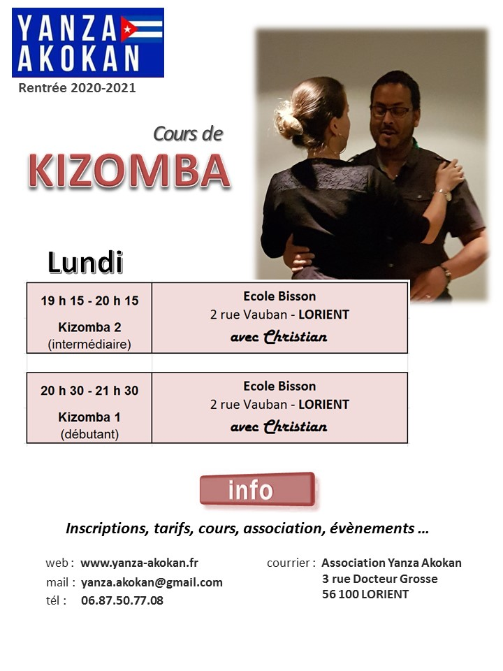 Cours de Kizomba