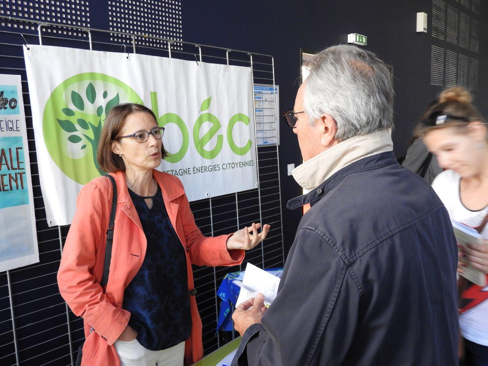 Stand de BEC à Lorient en 2018