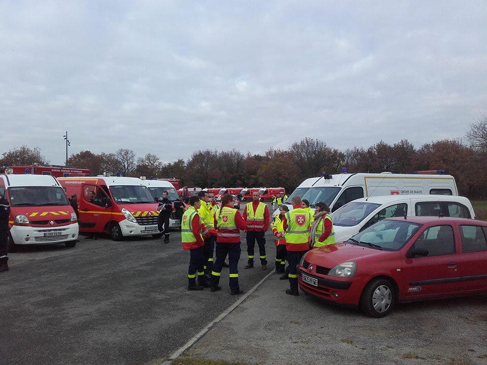 Notre Unité du Morbihan participe à des plans ORSEC régulier avec les forces de l'ordre, les pompiers et le SAMU