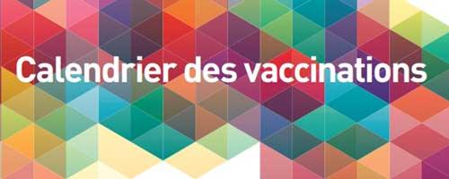 Calendrier des vaccinations