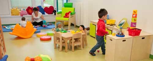 Structures d'accueil pour les tout-petits