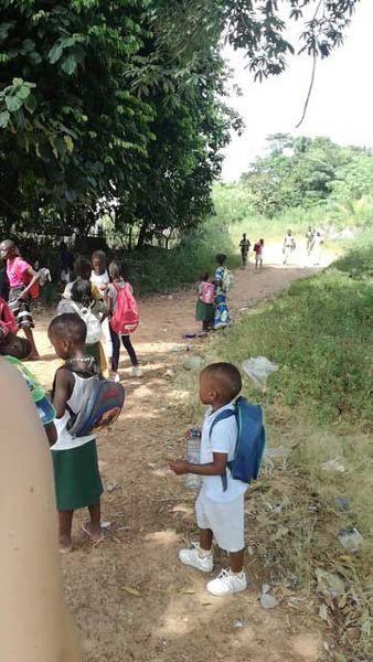 Actions au Sénégal