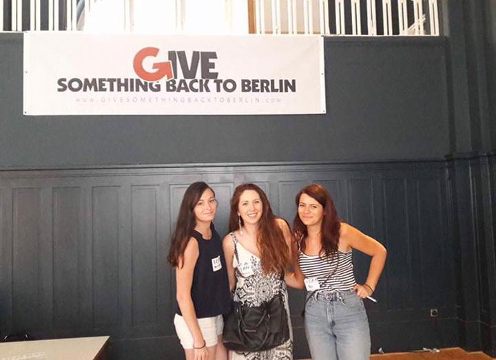 Projet à Berlin en 2017 dans un camp de réfugiés
