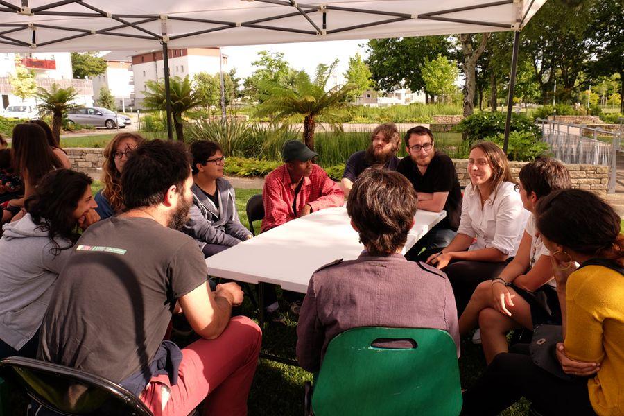 Rencontre pour échanger sur les projets de jeunes à Kervénanec – 13 juin 2017