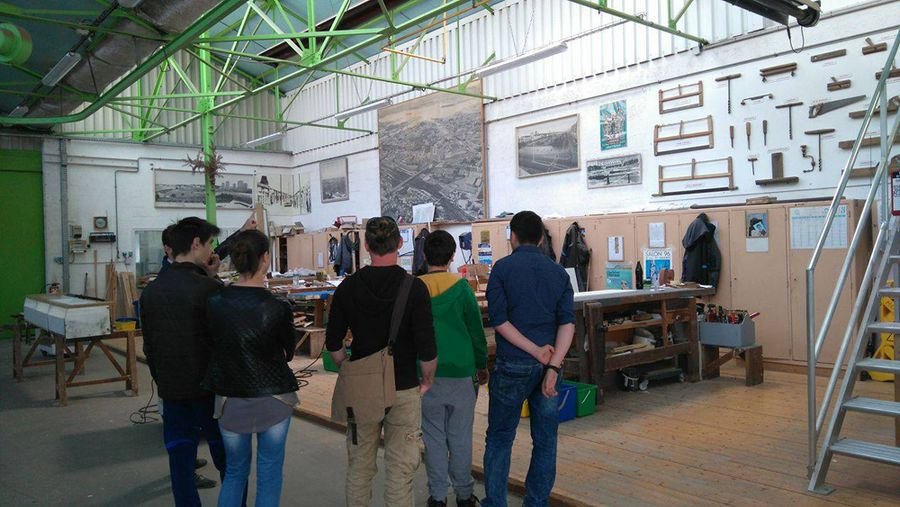 Visite des ateliers municipaux