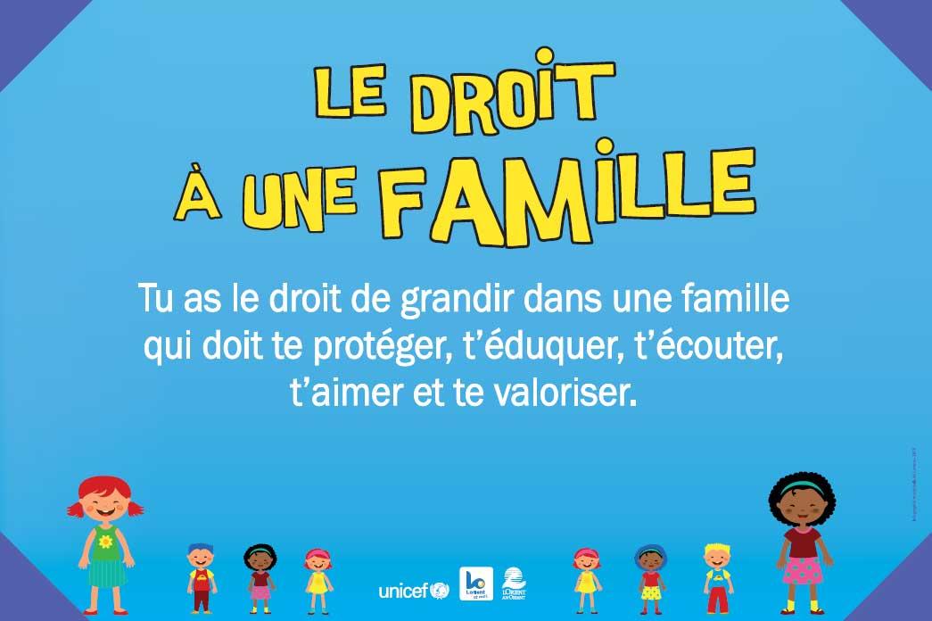 Droit à une famille
