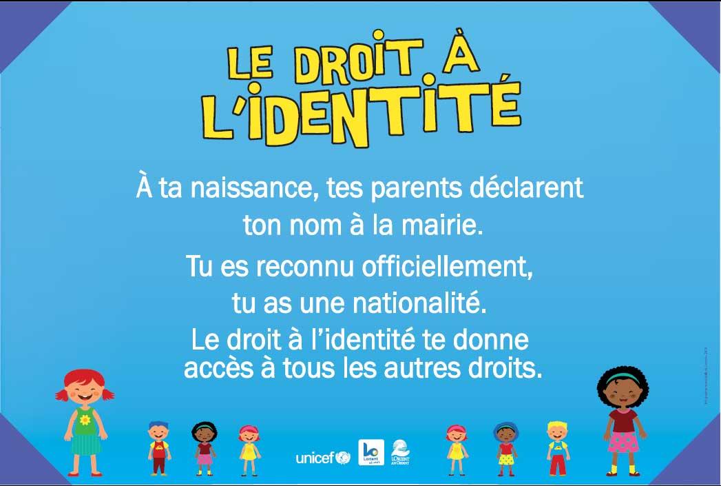 Droit à l'identité