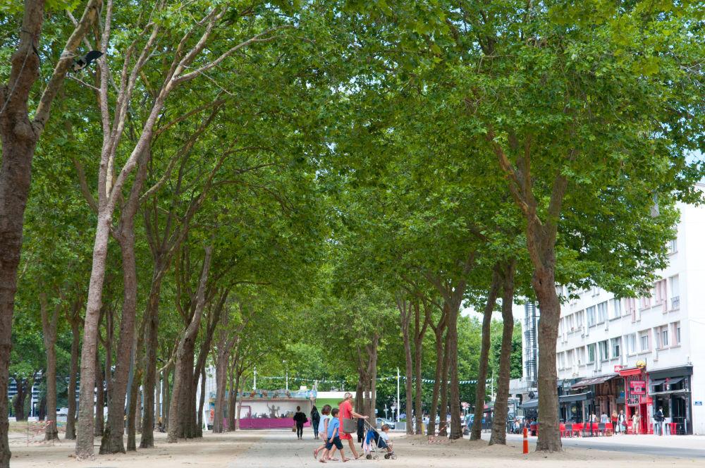 La rambla du parc Jules Ferry