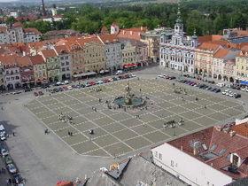 České Budějovice, en Bohême-du-Sud (République tchèque)