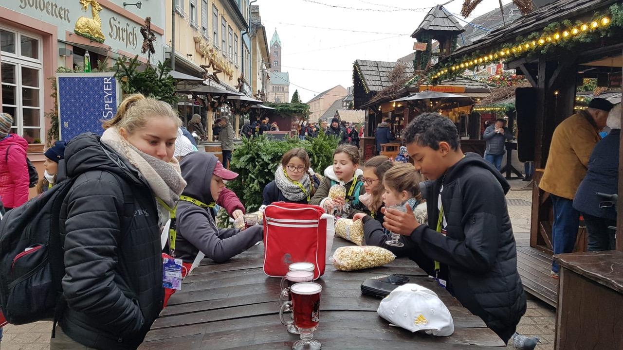 visite au marché de Noël