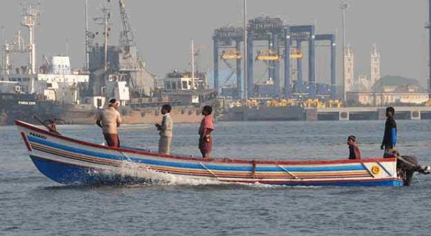 Cochin, la plus grande ville du Kerala (Inde)