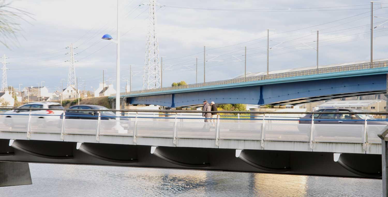 Pont des Indes et passerelle SNCF