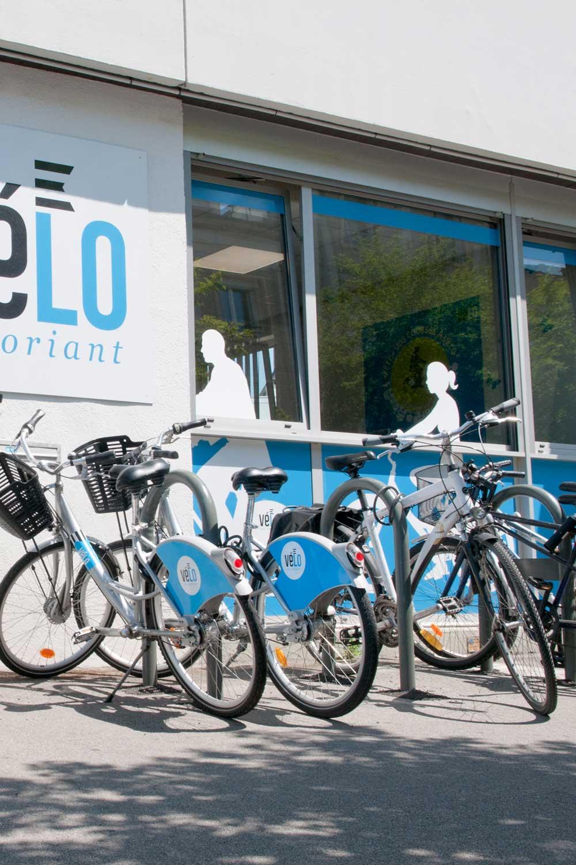 La boutique vélo, rue Franchet d'Esperey