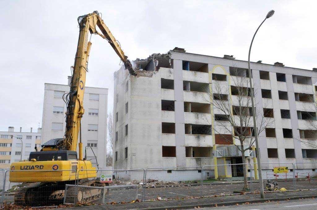 Immeuble 11 au 23 rue du Bois du Château