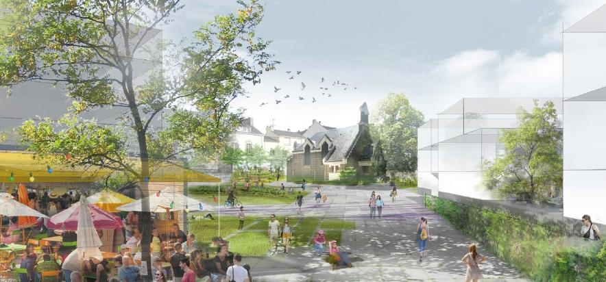 Esquisse du futur quartier (image DR)
