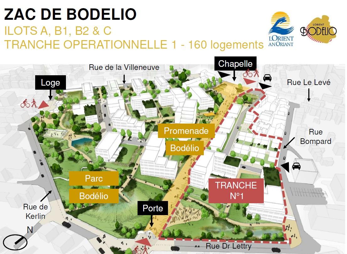 1e tranche du projet Bodelio