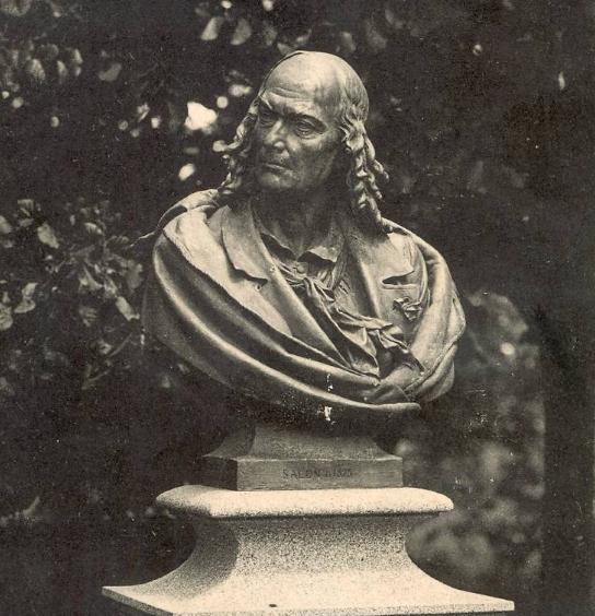 Le buste du docteur Bodélio
