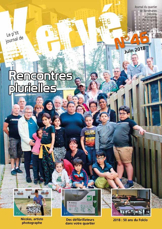 P'tit journal de Kervé... numéro de juin 2018