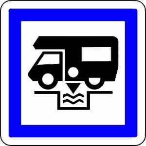 Signalétique aire camping-car
