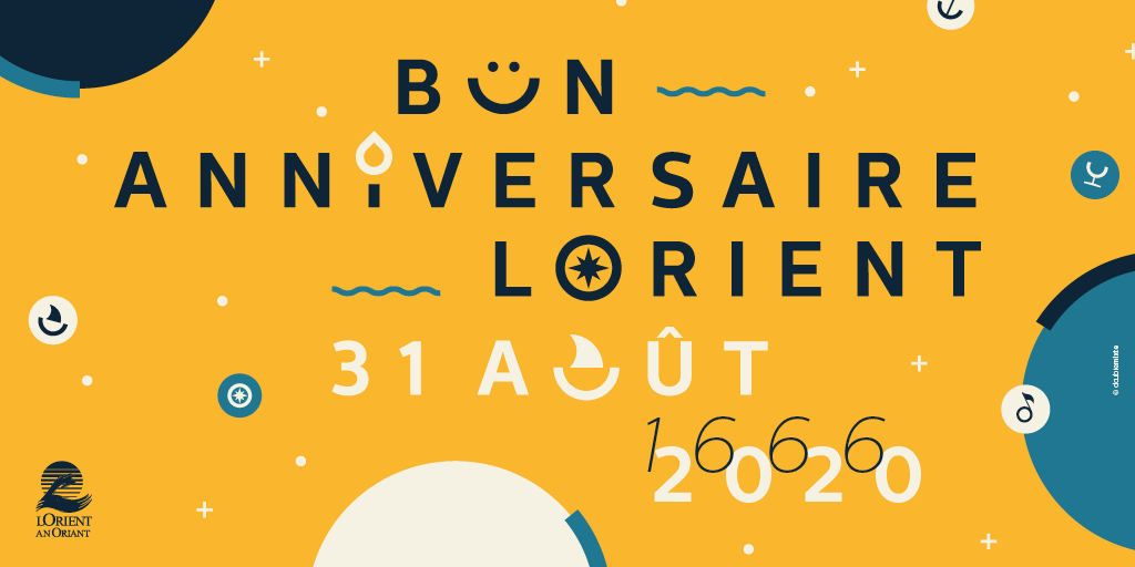 Bon anniversaire Lorient !