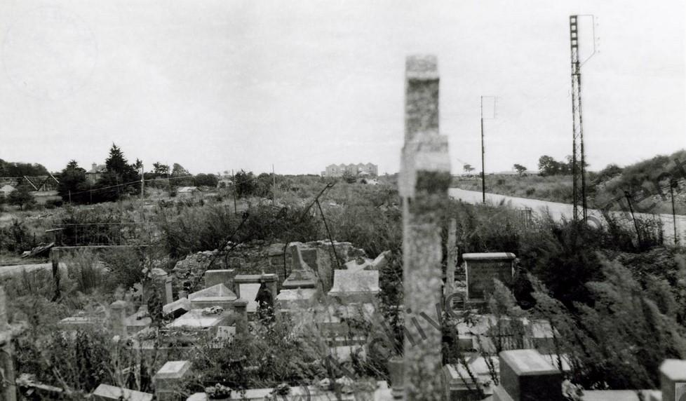 Avenue de la Perrière depuis le cimetière