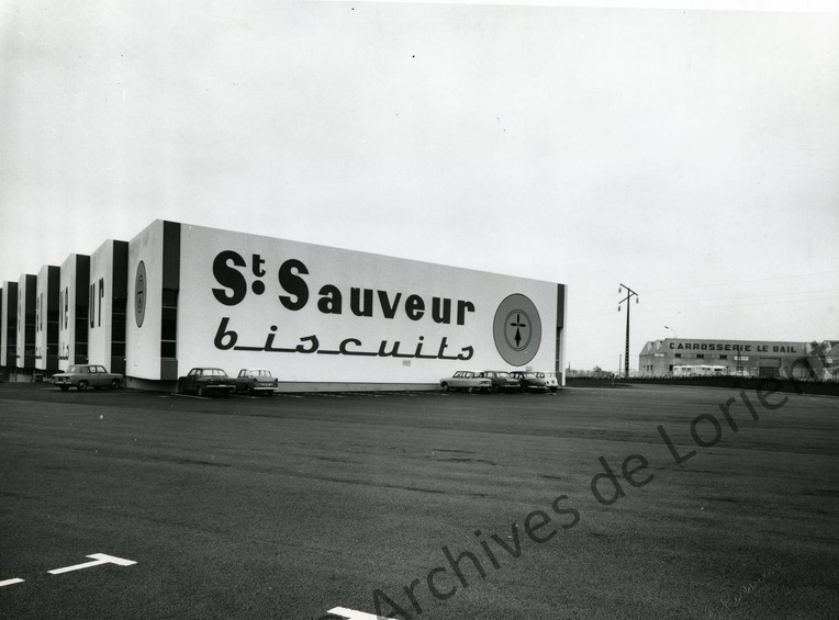 ZI de Keryado... la biscuiterie St Sauveur