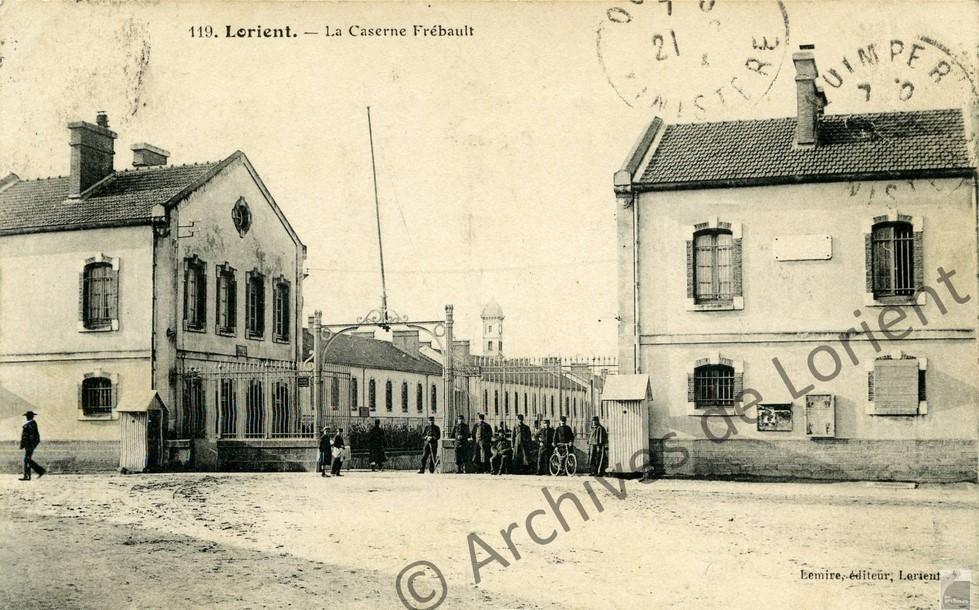Entrée du Quartier Frébault