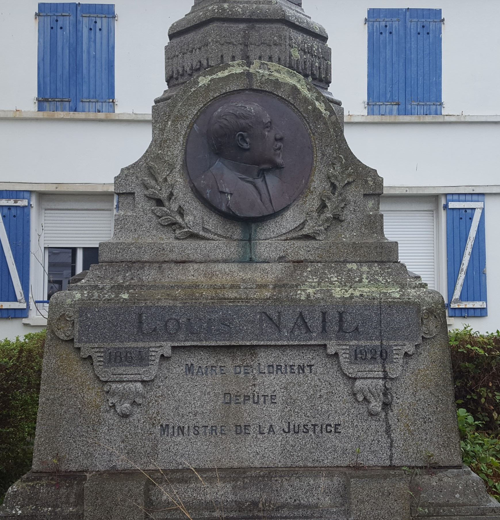 Monument à Louis Nail