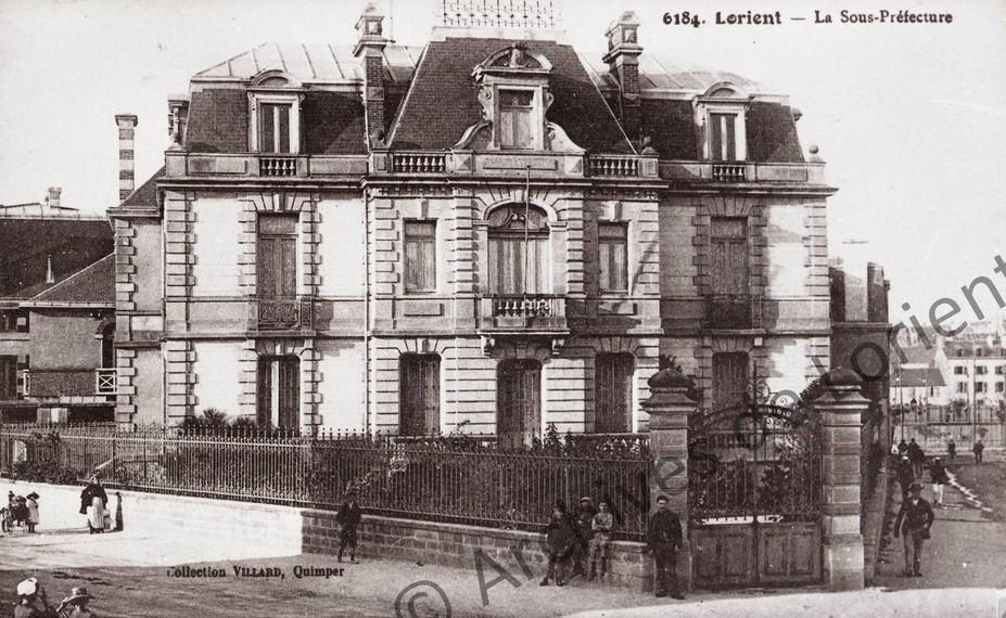 ancienne sous-préfecture du Morbihan