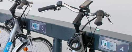 Vélos électriques en libre-service