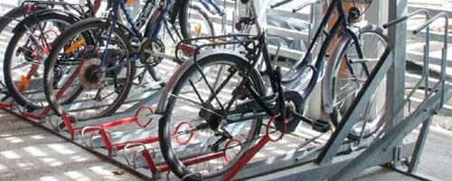 abris fermés pour les vélos