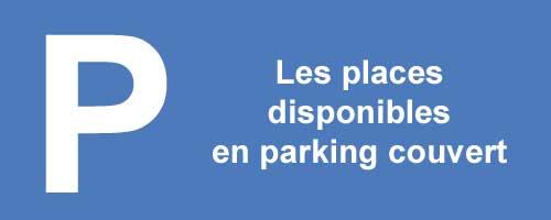Places en temps réel dans les parkings